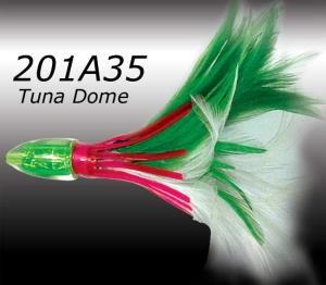Osprey tuna lure with feather skirt 201a35