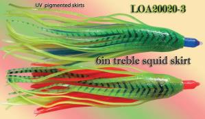 treble layer squid skirt