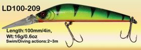 Osprey top level swiming crankbaits. 4in crankbaits diving to 3.5m