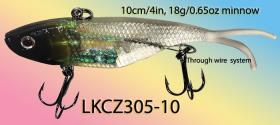 Opsrey sot plastic swimbait with flipper tail. Swimbait from 10-12cm