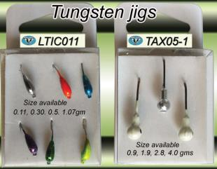 Non lead fishing tackle-tungsten jig heads and ice jigs- LTIC011