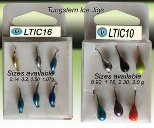 tungsten ice jigs- LTIC16