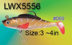 Osprey Soft body swimbait. Swimbaits from3-5in