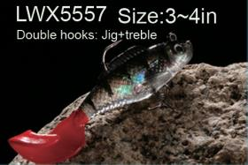 Osprey Soft body swimbaits. Swimbaits with a curly tail. LWx5557