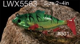 osprey soft body swim baits. Swimbaits from soft plastic