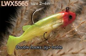 Osprey Soft body swimbaits. Swimbaits from 2-4in