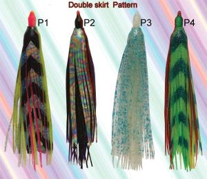 double layer squid skirts-1
