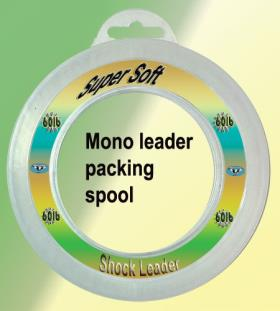 Osprey mono filament super soft leader line. Shock leader line in 50mtr spools