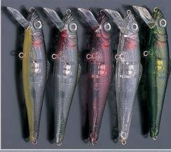 electronic lures-  electronic crankbaits with flicking lights