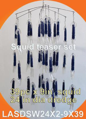 Osprey squid teaser sets.